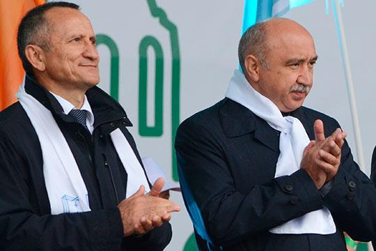 Ильшат Гафуров (справа) иЭдвард Абдуллазянов (слева)