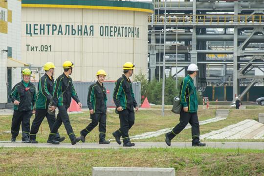 «Мы не делим: казанские, альметьевские, нижнекамские, … Вместе делаем общее дело»