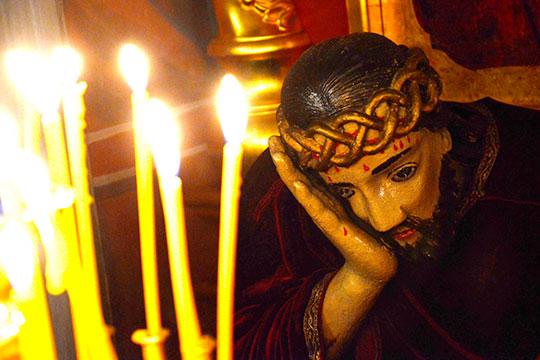 «Если 19апреля наваш возглас «Христос воскресе»» будут отвечать «Воистину воскресе!», если мыуслышим вэтот день голос священника— значит, невсе еще потеряно»