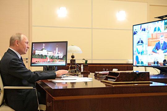 «Путин отклонил честь объявить о всеобщем локдауне; он дал губернаторам на местах право решать, как поступать»