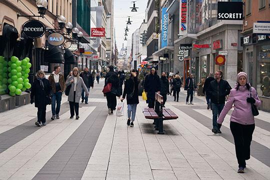 Стокгольм во время пандемии коронавируса COVID-19