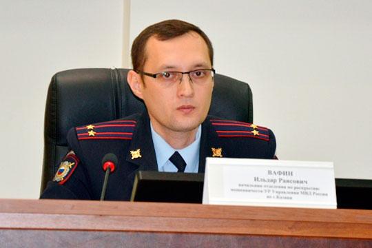 Как стало известно «БИЗНЕС Online», следственный комитет по РТ разбирается в действиях теперь уже бывшего начальника казанского отдела полиции «Восход» Ильдара Вафина