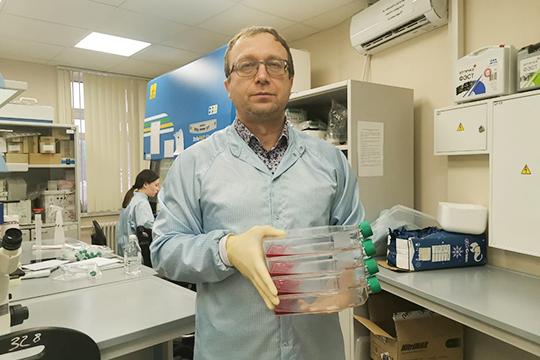 Альберт Ризванов: «Тест позволяет не только качественно сказать, человек болен или нет, но и количественно определить, какая у него вирусная нагрузка»