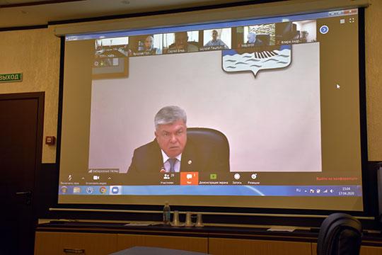 В Торгово-промышленной палате Набережных Челнов прошло заседание антикризисного штаба в формате вопрос-ответ в режиме онлайн