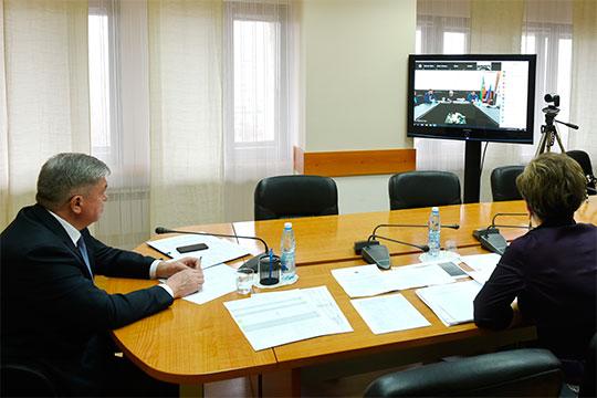 Выступление самозанятого в сфере ремонта обуви и изготовления ключей Шухрата Ташпулатова понравилось Магдееву больше всего