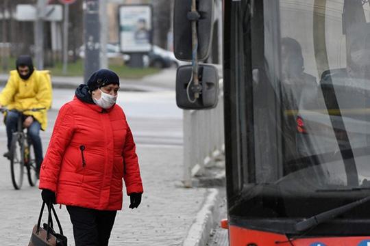 Ссегодняшнего дня появляться вмагазинах иобщественном транспорте без масок или респираторов запрещено