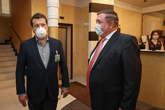 50 медицинских работников, которые работают с коронавирусными больными, разместит у себя казанский гостиничный комплекс Suleiman Palace