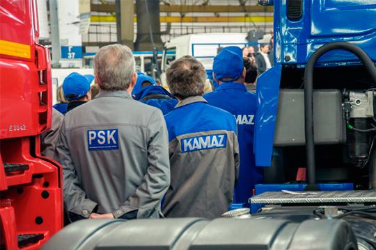 В релизе говорится, что на сегодняшний день предприятие получило подтверждение о двух заболевших коронавирусом работникахв «КАМАЗа»