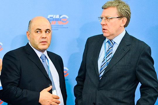 «Кудрин (справа) хочет стать премьер-министром. Онуже понял, что стать премьером отлибералов невозможно, поэтому перешел влагерь умеренных патриотов»