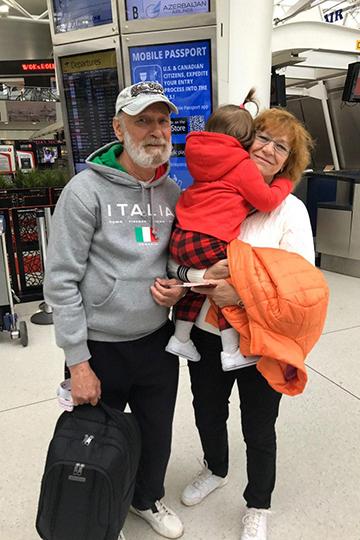 Жительница КазаниЕкатерина Хорошиловабеспокоится засвоих родителей, которые уехали вНью-Йорк повидать внуков
