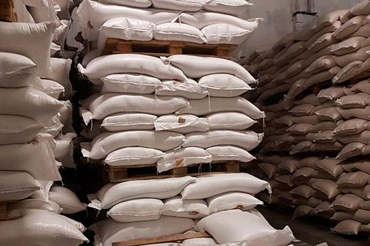 «Мы реализуем крупу как в килограммовых пакетах, так и в мешках по 25 и 50 кг.»