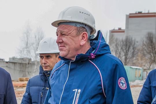 За строительство «коронавирусного» госпиталя в Казани взялся проверенный временем подрядчик — компания «Ак Таш» Газинура Ахметова