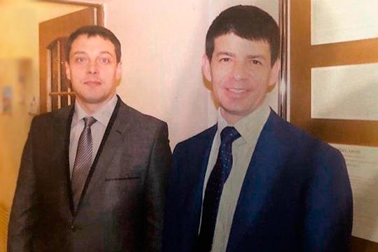 В пятницу был назначен новый начальник управления экономической безопасности и противодействия коррупции МВД, полковник Тимур Минушев (на фото с Ильдаром Сафиуллиным (справа)