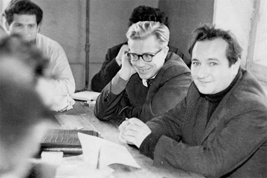 Опыт, приобретенный в«Татнефти», которому онотдал 20 лет жизни, пригодился Грайферу (справа) навсю жизнь