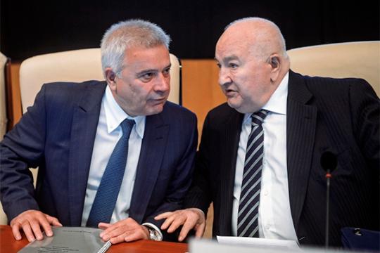 Президент ОАО«Лукойл»Вагит Алекперов (слева) и генеральный директор компании РИТЭК Валерий Грайфер