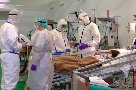 Российские военные врачи пришли на помощь итальянским коллегам в борьбе с коронавирусом