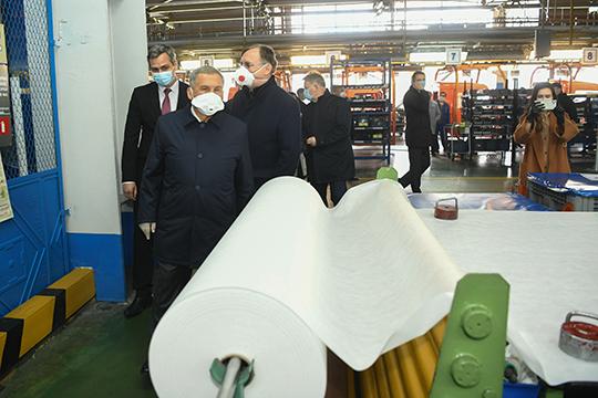 Новое непрофильное производство КАМАЗа истало первой точкой впрезидентском маршруте