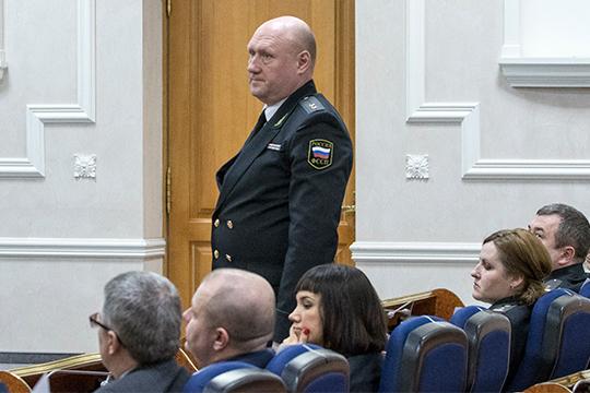 Единственный из замов главного пристава РТ, кто останется на службе, это Андрей Михайлов, который курирует работу дознания и организацию работу в судах