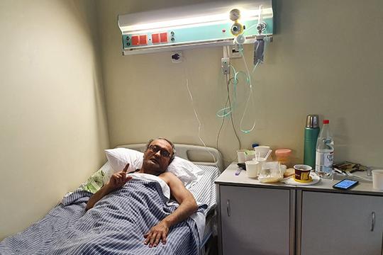 4-го апреля мне стало хуже. В тот день меня госпитализировали. Сперва снова повезли в инфекционку рано утром, а под вечер меня отправили в 7 Горбольницу на полноценное лечение