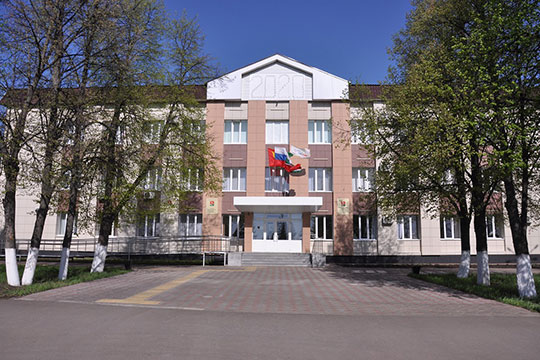 Здание исполкома Сармановского района