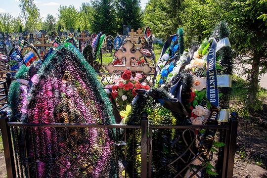 Могила хирурга располагается неподалеку от основных ворот кладбища на Аллее Славы, где похоронены заслуженные люди Челнов