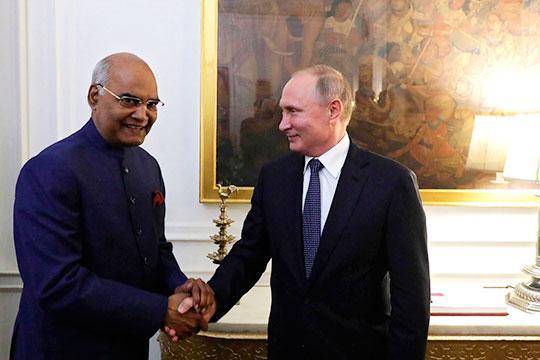 «Имея в числе стратегических союзников Индию с ее огромным потенциалом, мы смогли бы построить внушительный рынок для инвестиций, нового индустриального уклада и разработки новейших технологий»