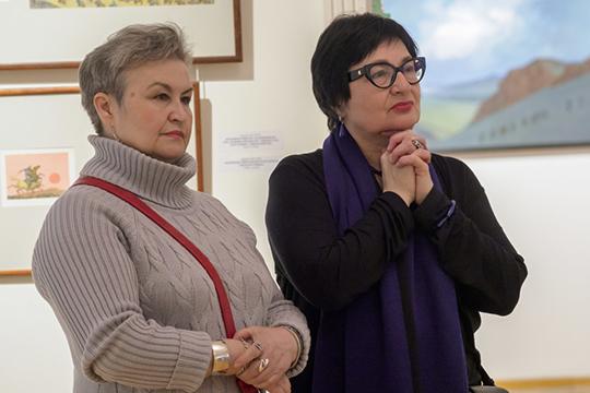 Розалия Нургалеева с 2006 года возглавляет Государственный музей изобразительных искусств РТ