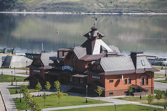 С сегодняшнего дня остров-град Свияжск открывает шлагбаум для посетителей