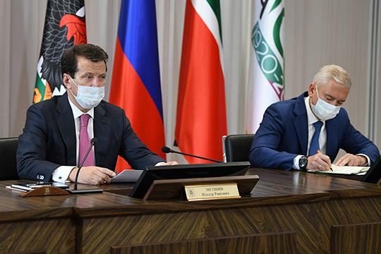 Сегодня на городском штабе в мэрии Казани по противодействию распространению коронавирусной инфекции подводили итоги первой недели масочно-перчаточного режима