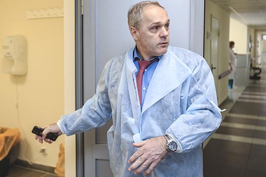 Артур Делян:«Докритического состояния пациенты себя недоводят, мыдаже инфицированным своевременно оказываем высокотехнологическую помощь, никаких угроз здоровью людей нет»