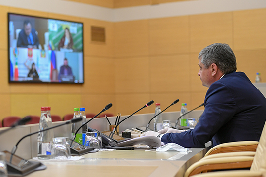 Министр экологии РТ Александр Шадриков объявил на видеобрифинге из кабмина РТ о завершении международной независимой экспертизы проекта завода