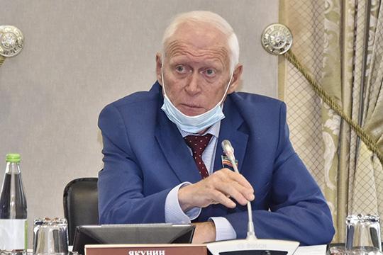 Леонид Якунин:«Пугает то, что зачетыре месяца почти намиллиард упал подоходный налог, эта татенденция, которая складывается»