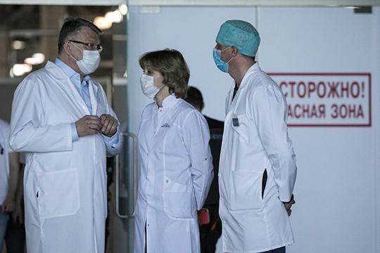 «По нашим предварительным подсчетам, антитела могут быть у 22-23% людей, работающих в здравоохранении. Это еще предстоит перепроверить»