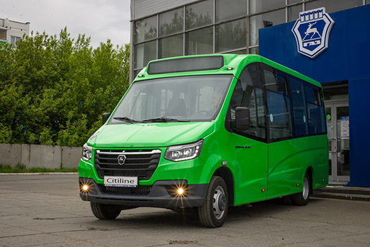 Автобус получился довольно компактным— 6620×2200×2720 мм, исможет без труда маневрировать даже поузким дорогам