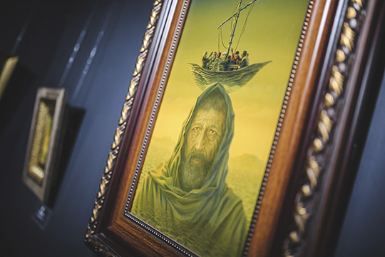 «Вмоих картинах замечают библейские мотивы. Ачто такое библейские мотивы? Это мотивы нашей жизни, только ивсего. Библия— это жизнь»