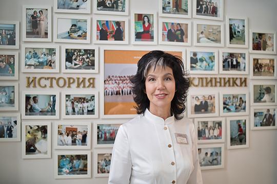 «В 2005 году я открыла первую в Казани и Татарстане Клинику Молодости и Красоты, где уже тогда применялся комплексный междисциплинарный подход к антивозрастной медицине»