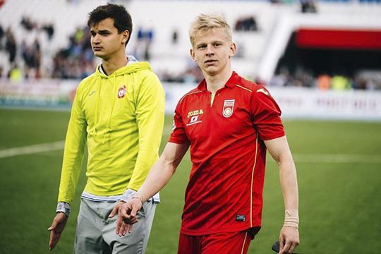 Александр Зинченко (справа)