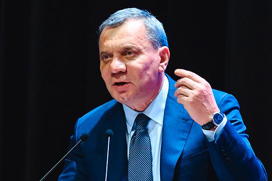 Юрий Борисов:«Произошло сжатие покупательской способности всех участников рыночных отношений, поэтому выход видится вразогреве рыночного спроса. Подогрев спроса требует денег»