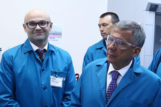 В 2018 году гостем «НИОСТа» в рамках своего большого визита в Томск стал Рустам Минниханов