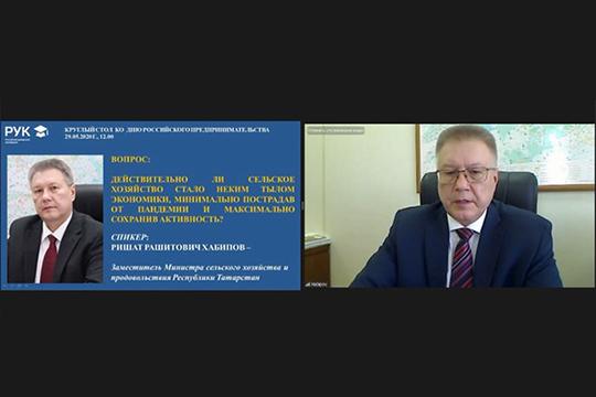 Рашид Хабипов:«Был создан Агропромпарк, используем возможности сезонных ярмарок выходногодня… Нокоронавирус, как вызнаете, внес свои коррективы»