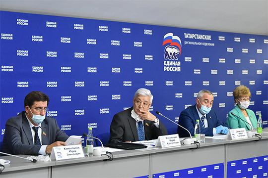 Несмотря нанеослабевающие карантинные меры, заседание татарстанского регионального политического совета «Единой России» сегодня прошло вочном формате