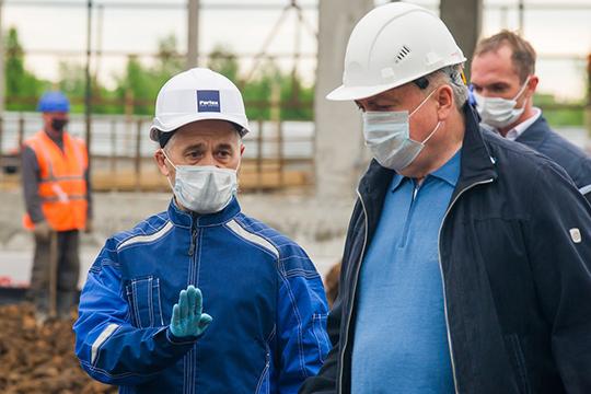 «Поставленную задачу выполним— сдадим к30августа»,— обещался Галямов