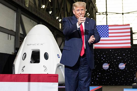 «Трамп действительно начал резко повышать финансирование военного космоса»