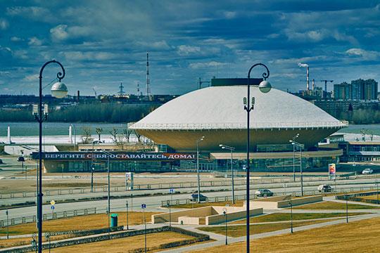 Здание казанского государственного цирка в наши дни