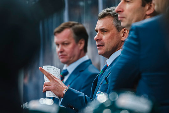 Ключевым решением стало приглашение Дмитрия Квартальнова на пост главного тренера