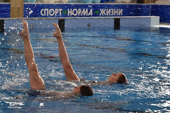 Новый бассейн вНабережных Челнах—первый объект, сданный впериод пандемии, пофедеральной программе «Спорт— норма жизни»