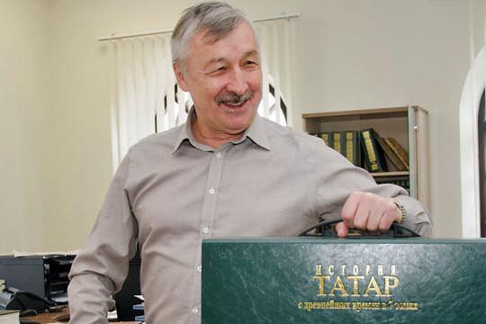 «Моя задача была—поднять институт и написать историю татар, сделав ее фундаментальной, капитальной, чтобы ее не пересматривали через 10-20 лет»