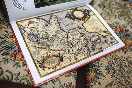 «Смысл карты в том, что она подлинная, показывает где и какие страны, какие народы, границы»
