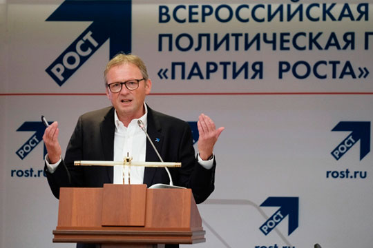 «Возможно, в отношении «Партии роста» у власти есть планы. То есть управляемый и лояльный субъект можно будет провести в Госдуму, допустить его прохождение, чтобы там на него опираться» (На фото Борис Титов)