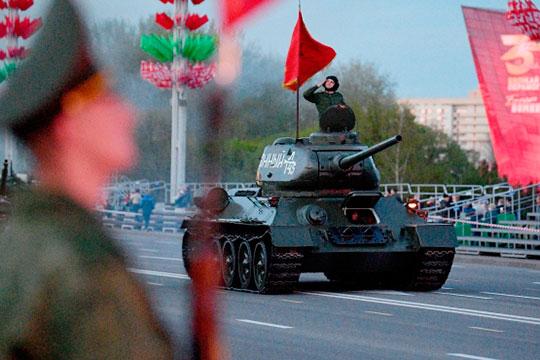 Можно сказать, что у нас, с точки зрения проведения информационной кампании, Парад Победы будет длиться больше месяца